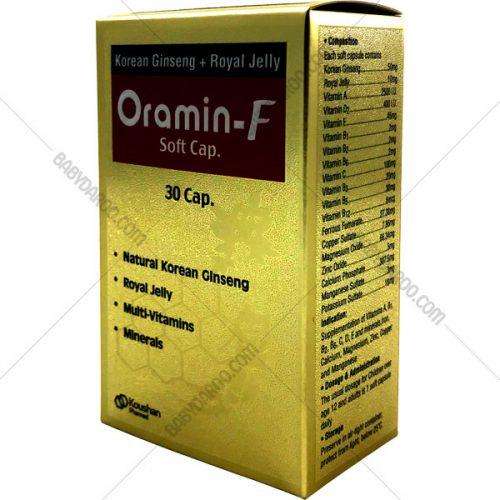 کپسول ژلاتینی نرم ارامین-اف - Oramin-F soft Cap