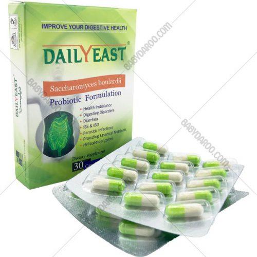 کپسول دیلیست زیست تخمیر - Zist Takhmir Daily East Probiotic Formulation