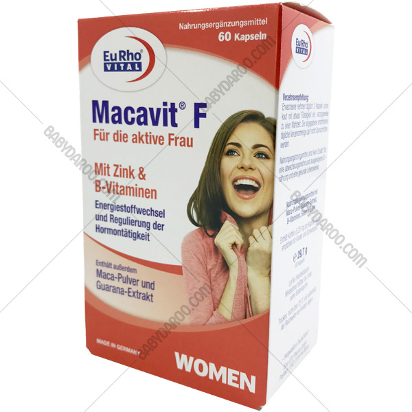 کپسول ماکاویت اف یوروویتال - Macavit F