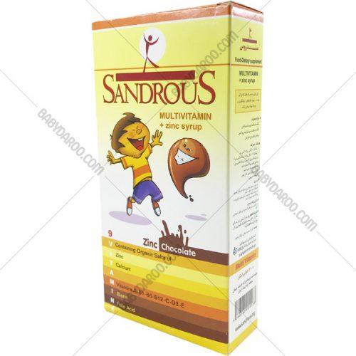 شربت زینک سندروس - شربت مولتی ویتامین با زینک سندروس