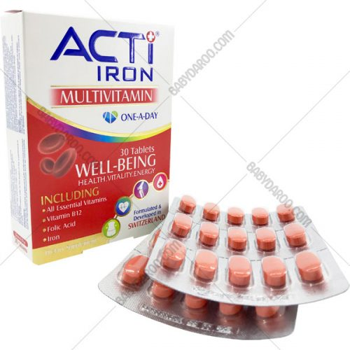 قرص اکتی وان آیرون - ACTI IRON