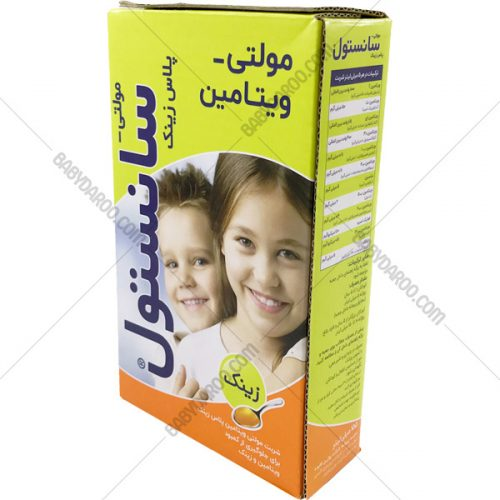 مولتی سانستول پلاس زینک - Sanostol Multivitamin Plus Zinc Syrup