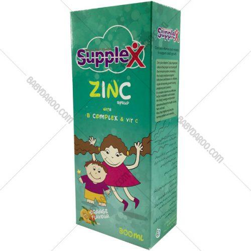 شربت زینک همراه با کمپلکس و ویتامین C