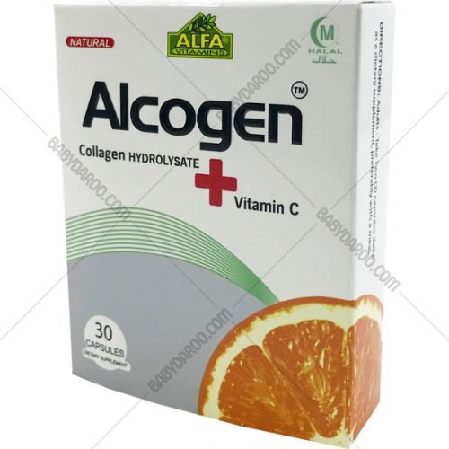 کپسول آلکوژن با ویتامین Alcogen + vitamin C