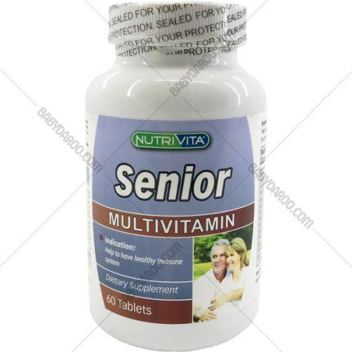 سنیور نوتری ویتا مولتی ویتامین - Nutrivita Senior Multivitamin