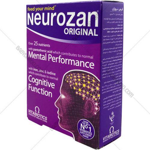 قرص نروزان ویتابیوتیکس اورجینال - Neurozan