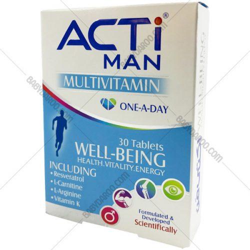 ACTIMAN MULTIVITAMIN - قرص مولتی ویتامین اکتی من