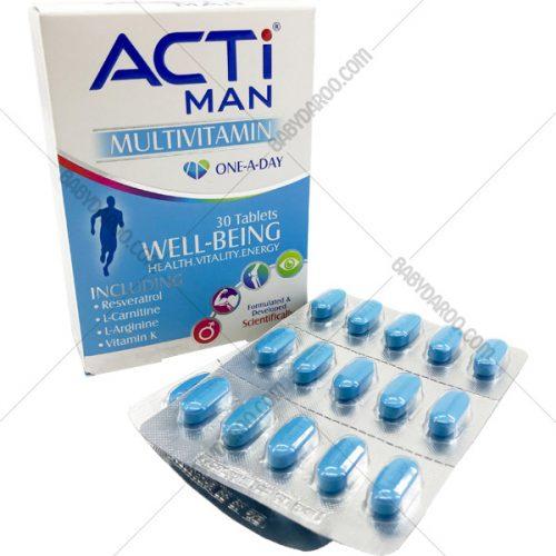 ACTIMAN MULTIVITAMIN – قرص مولتی ویتامین اکتی من